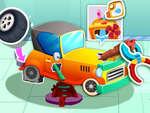 Animal Auto Repair Shop game