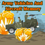 Army Vehicles And Aircraft Memory game