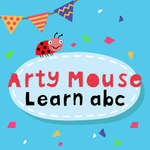 Arty Mouse Learn ABC game