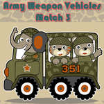 Army Weapon Vehicles Match 3 game