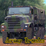 Army Trucks Hidden Objects game