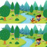 Arbor Day Unterschiede Spiel