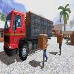 Asiatische Offroad Cargo Truck Driver Spiel