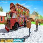 Asian Real Cargo Truck Driver Offroad Truck Simulator game
