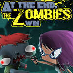 At the end zombies win game