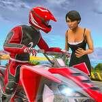 ATV Quad Bike Taxi hra