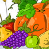Autumn Harvest Coloring Page game