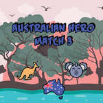 Australian Hero Match 3 game