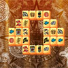 Azték piramis Mahjong játék