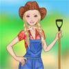 игра Девушка Барби фермы