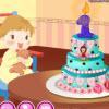 Baby prvý koláč hra