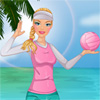 Barbie beachvolleybal spel