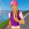 Barbie ide Jogging hra