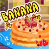 Cocina de crepe de plátano juego