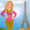 Barbie visites Paris jeu