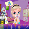 Baby Elsa Skin Allergy game