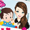 Baby Sitter Dress Up game