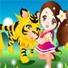 Baby Tiger Dress Up game