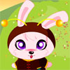 Baby Rabbit Dressup game