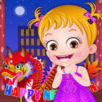 Baby Hazel New Year Party game