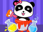 Baby Panda Color Mixing Studio game