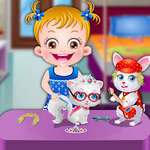 Baby Hazel Pet Party jeu