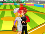 Baseball Kissing game