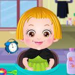 Cuidado del cabello de Bebé Hazel juego