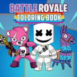 Battle Royale Coloring Book game