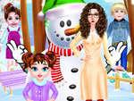 Baby Taylor Winter Hautpflege Spiel