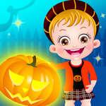 Baby Hazel Pumpkin Party game