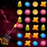 Bacteriën Monster Shooter spel