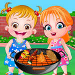 Baby Hazel Garden Party game