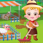Baby Hazel Farm Tour spel