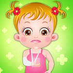 Baby Hazel Handfraktur Spiel