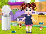 Baby Taylor Curte de curățare joc
