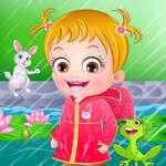 Baby Hazel Erster Regen Spiel