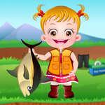 Baby Hazel Fishing Time game