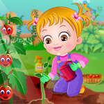 Bebé Hazel Tiempo de jardinería juego