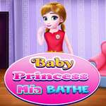 Baby Princess Mia Bathe game