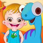 Het Park van de Dinosaurus van de Hazelaar van de baby spel