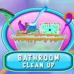 Badkamer schoon en Deco spel