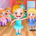 De Ballerinadans van de Hazelaar van de baby spel