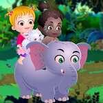 Baby Hazel Afrikaanse Safari spel