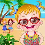 Fête de plage de bébé Hazel jeu