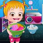 Бебета Hazel пране време игра