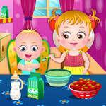 Бебе Hazel сестри грижи игра