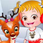 Baby Hazel Reindeer Surprise game