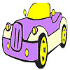 игра Лучший автомобиль окраску паук