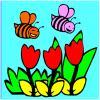 Пчелите, оцветяване игра